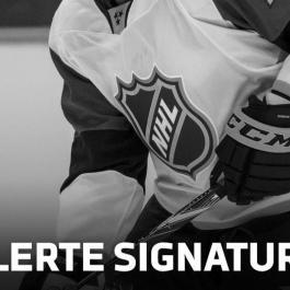 Les Senators mettent un joueur sous contrat!