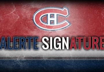 Le Canadien signe un de ses espoir!