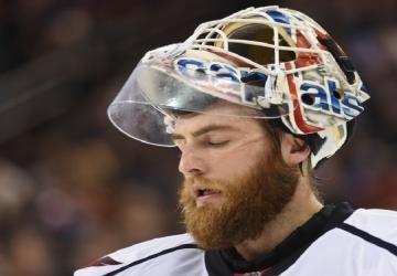 Braden Holtby dévoile son masque pour Team Canada!