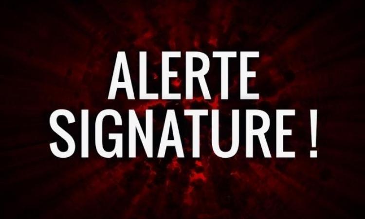 Une autre signature dans la LNH!