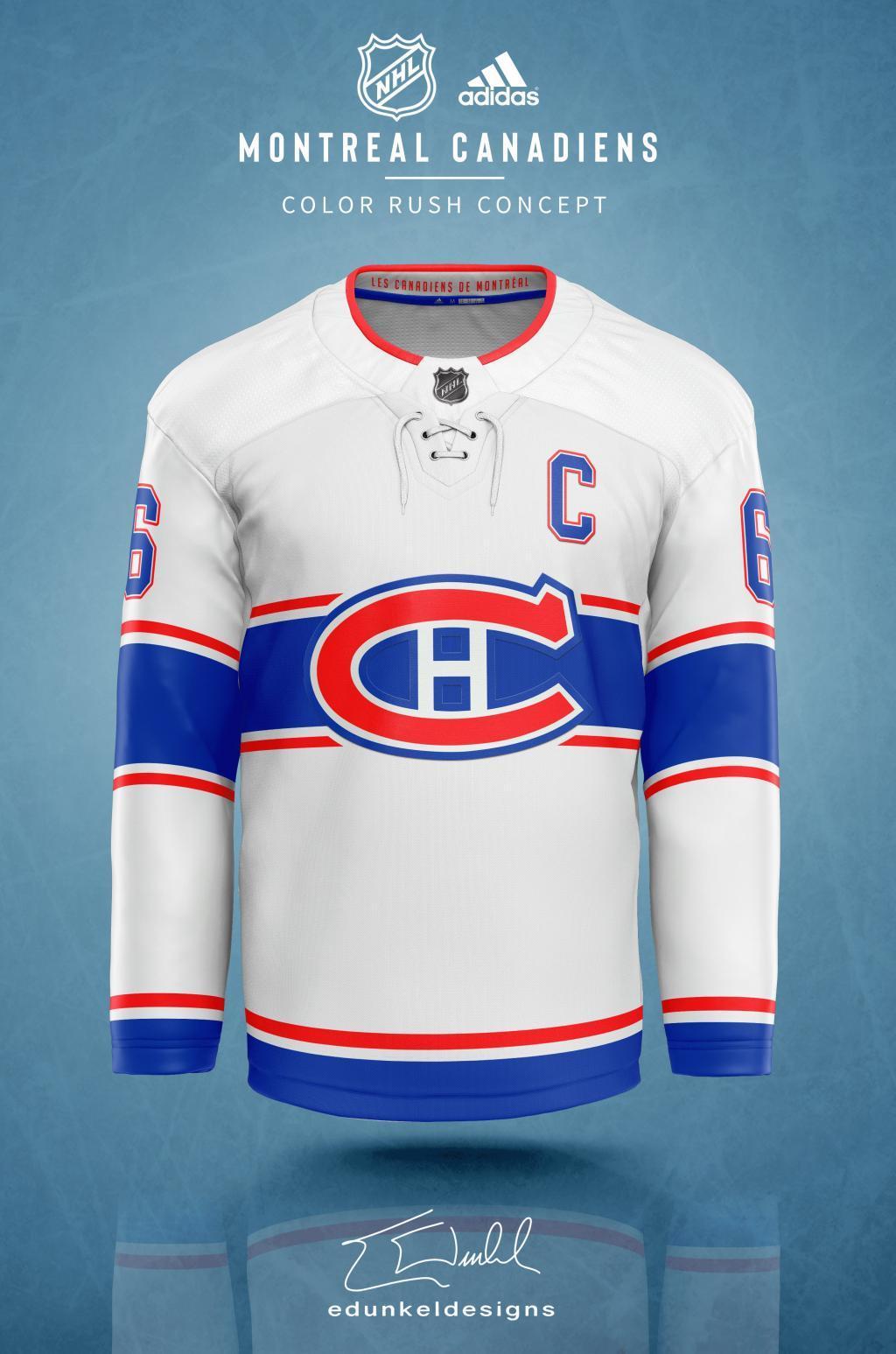 Proposition De 3e Chandail Pour Le Canadien Canadiens Habsolumentfan