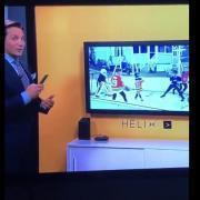 Moment de malaise à TVA Sports alors que le système Helix ne fonctionne pas