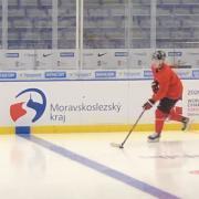 Alexis Lafrenière est de retour sur la glace