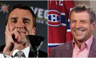 Guerre de mots entre les Canadiens et les Golden Knights!