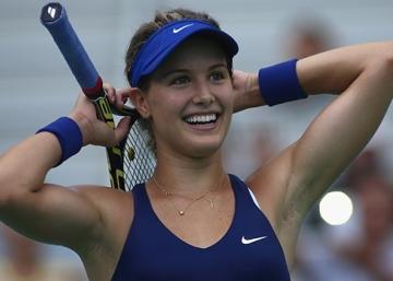 Eugenie Bouchard l'emporte contre Sharapova!