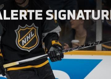 Un autre agent libre convoité signe dans la LNH!