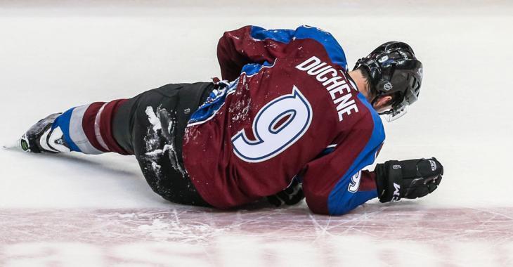 Les Canadiens au plus fort de la course pour Matt Duchene!
