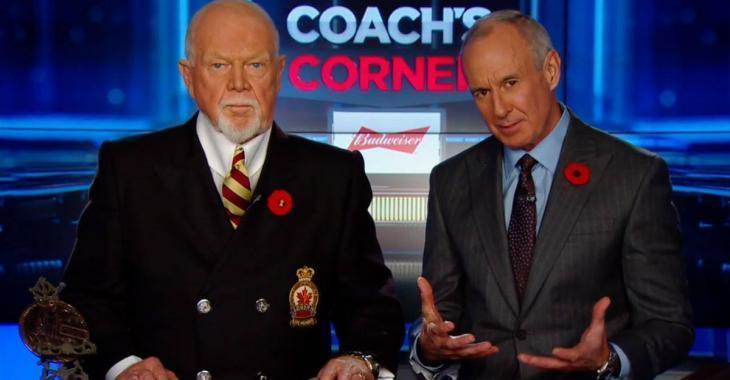 DERNIÈRE HEURE: Don Cherry affirme que les Sénateurs pourraient déménager à Québec
