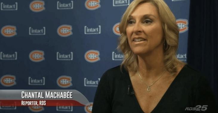 Chantal Machabée révèle une histoire impliquant Marc Bergevin!