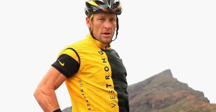 Lance Armstrong hospitalisé après une chute en vélo!