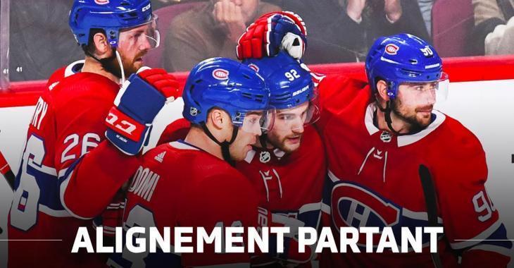 L'alignement du Canadien face aux Sens ce soir!