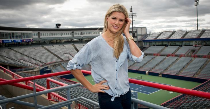 Eugenie Bouchard réitère son amour pour le tennis lorsqu'elle est questionnée sur ses activités personnelles