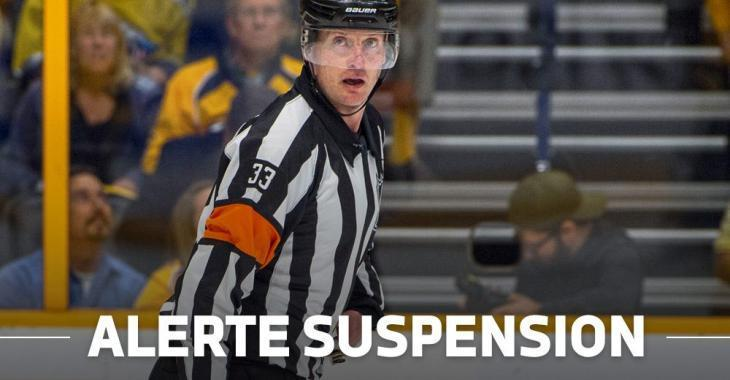 Ryan Johansen suspendu pour son coup de hache!