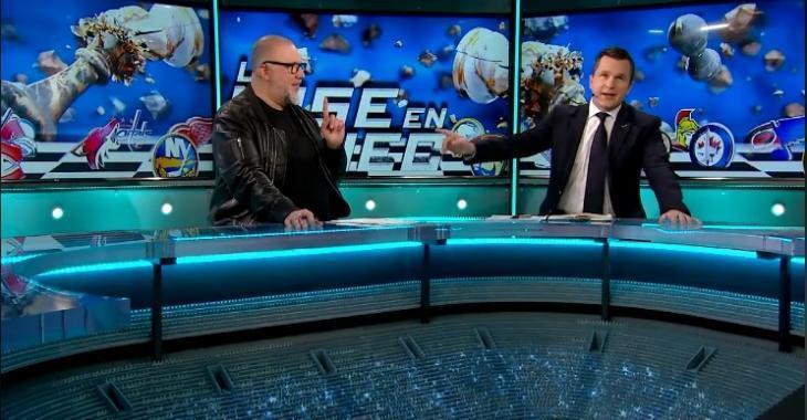 Jean-Charles Lajoie s'est moqué de Renaud Lavoie en direct à la télé!