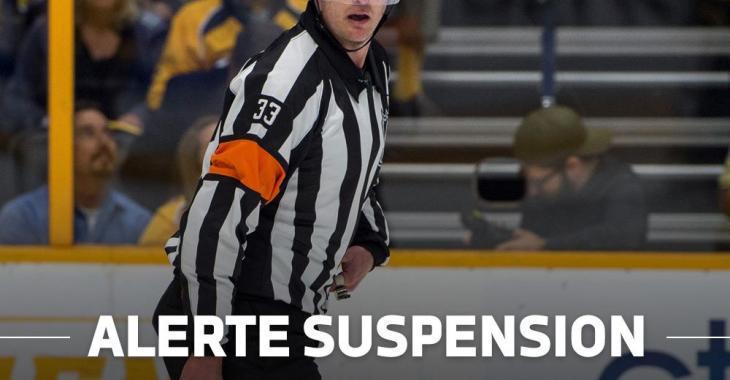Evgeni Malkin suspendu!
