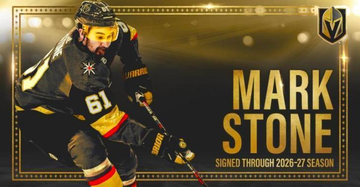 DERNIÈRE HEURE: Mark Stone signe finalement une prolongation de contrat monstre avec les Golden Knights