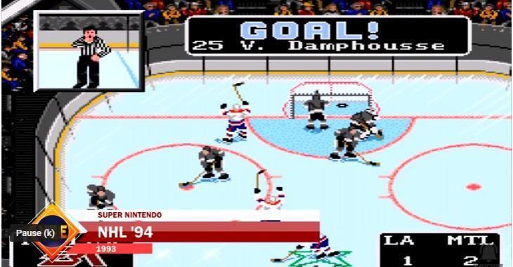 L'évolution du jeu NHL depuis ses débuts!