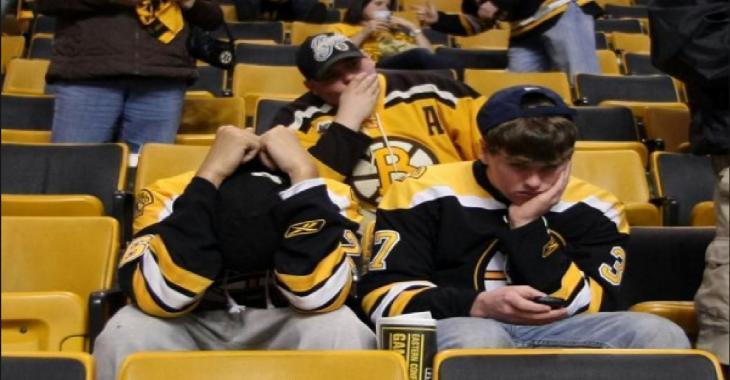 Un attaquant des Bruins quitte l'équipe en finale de la Coupe Stanley!