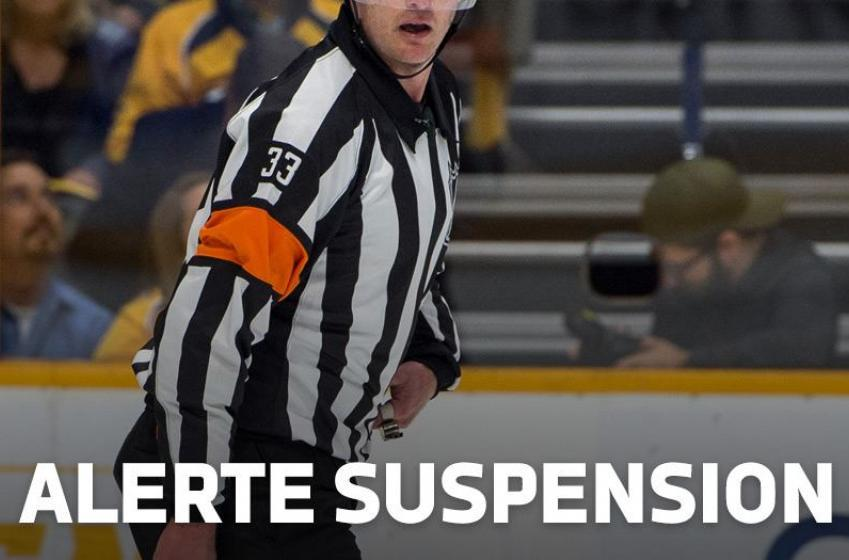 Deux joueurs des Flames suspendus dans le même match!