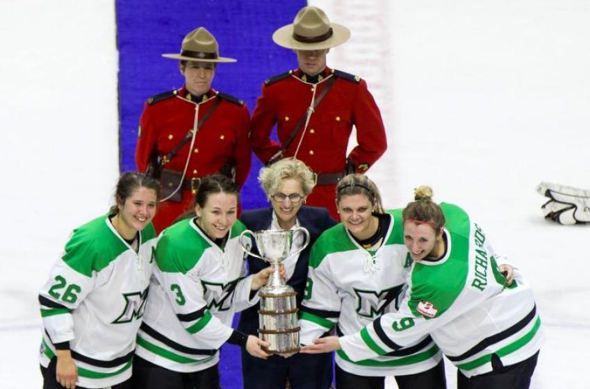 C'est la fin pour la Ligue canadienne de hockey féminin