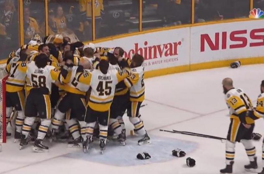 Pittsburgh remporte la Coupe Stanley!