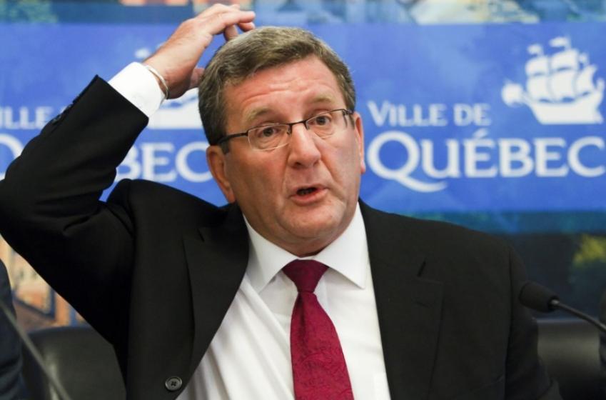 Flames à Québec: Régis Labeaume réagit!