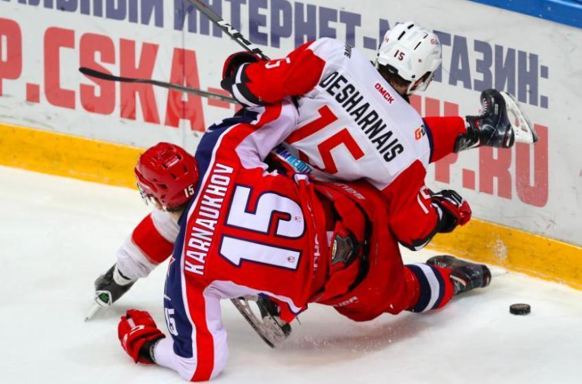 David Desharnais quitte la KHL et retourne en Suisse