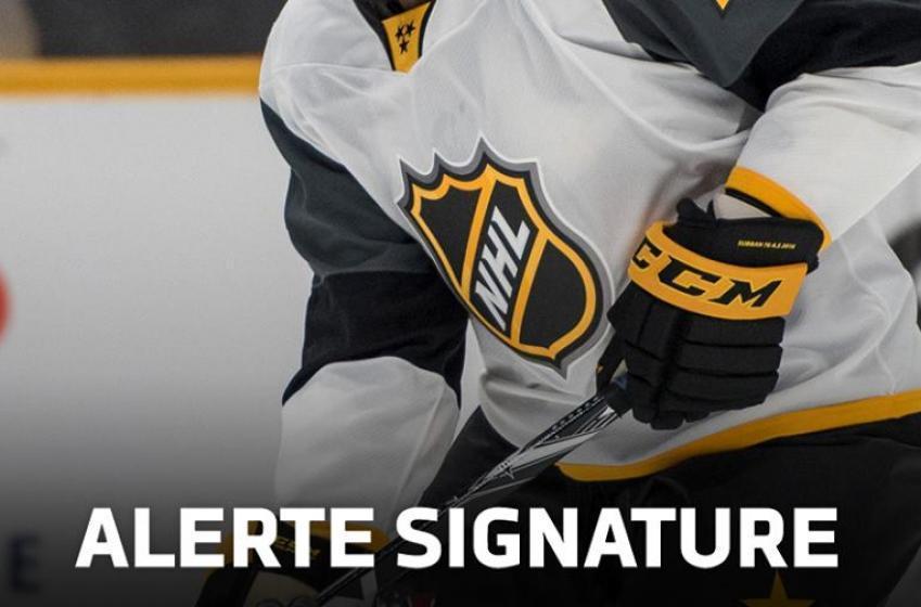 Alerte signature: Un nouveau contrat pour un ancien choix de première ronde!