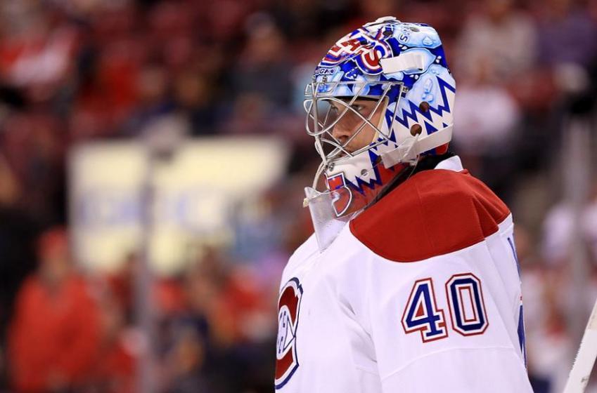 Charlie Lindgren dévoile son tout nouveau masque!