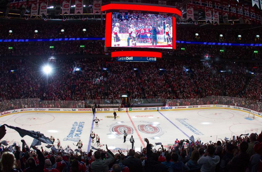 Gros malaise avant le match des Canadiens au Centre Bell!