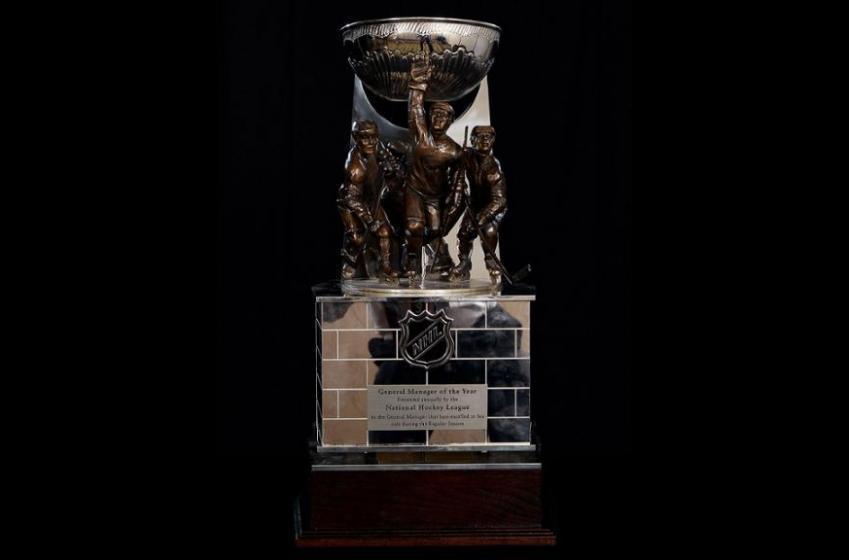 La LNH dévoile ses trois finalistes pour le titre de DG de l'année!