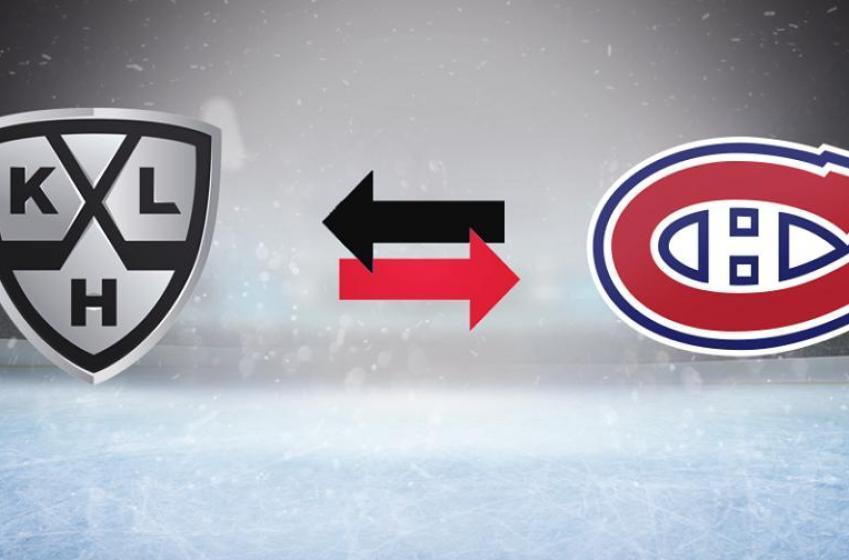 Un ancien du Canadien quitte pour la KHL!