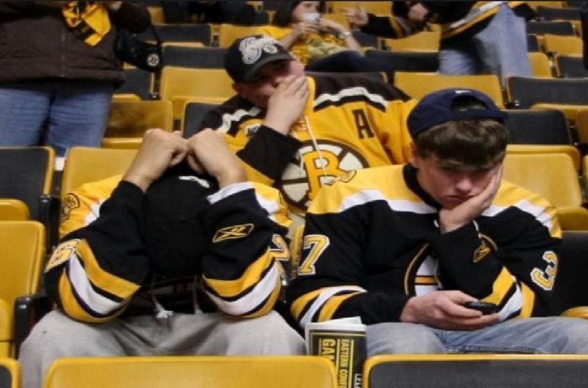 Les Bruins se font ramasser sur les réseaux sociaux!
