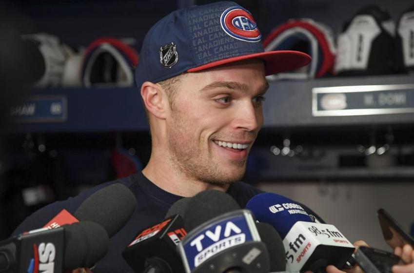 Max Domi souhaite rester à Montréal pour le reste de sa carrière!