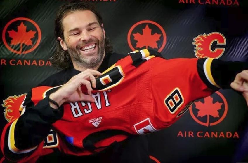Les Flames annoncent la date du grand retour de Jaromir Jagr!