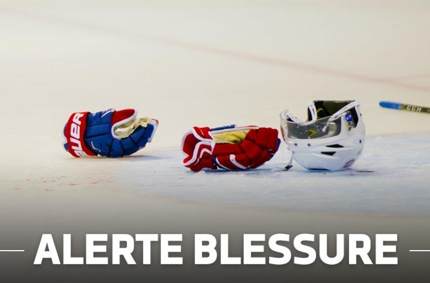 Saison terminée pour un espoir du Canadien!