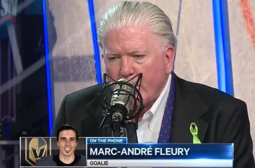 Brian Burke s'excuse publiquement à Marc-André Fleury!