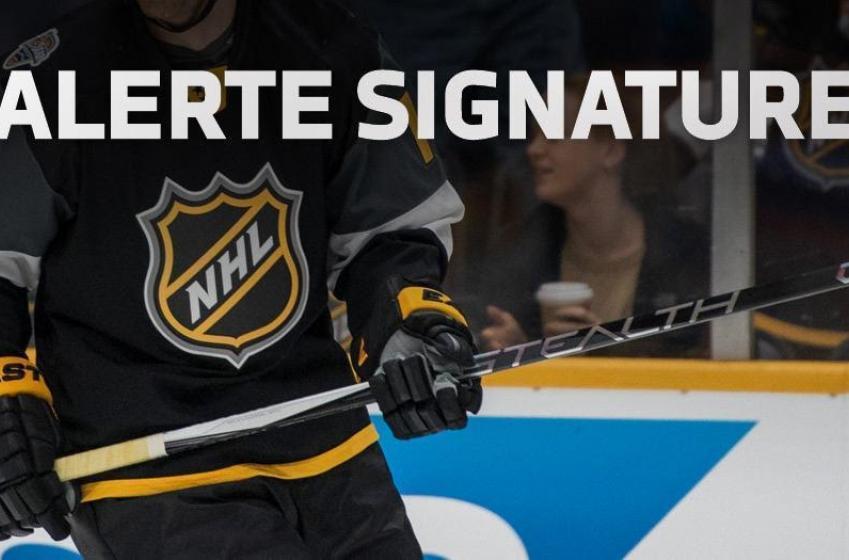 Les Oilers mettent un joueur sous contrat!