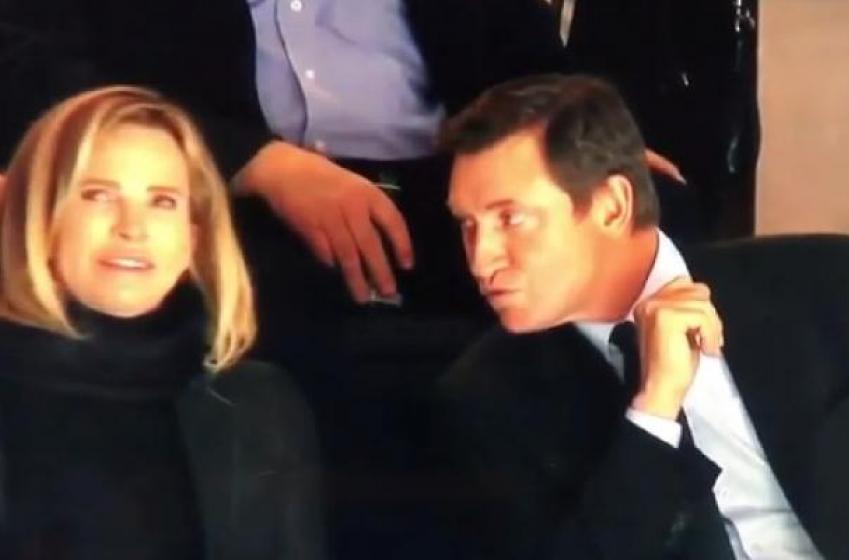 Wayne Gretzky se fait rejeter par sa femme en direct à la télé!