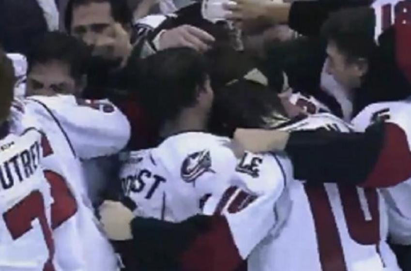 Les Champions de la AHL remportent le Calder en prolongation!