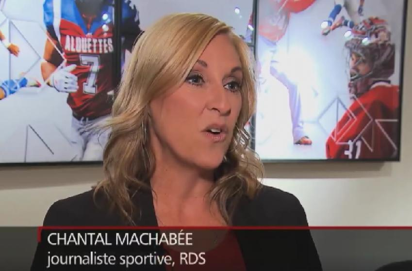 Chantal Machabée retirée des ondes!