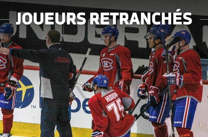 Quatre joueurs retranchés chez le Canadien!