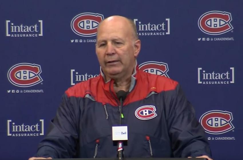 Claude Julien commente les buts refusés au CH!