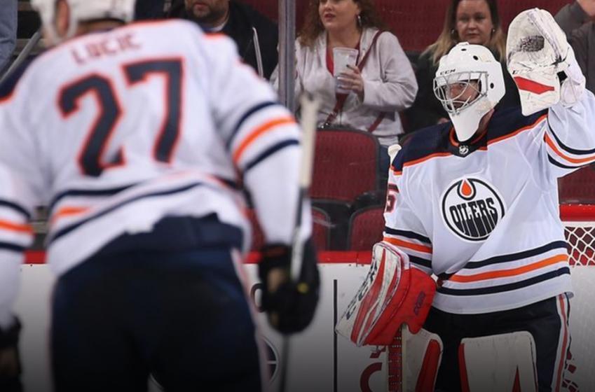 Al Montoya semble en pleine possession de ses moyens avec les Oilers!