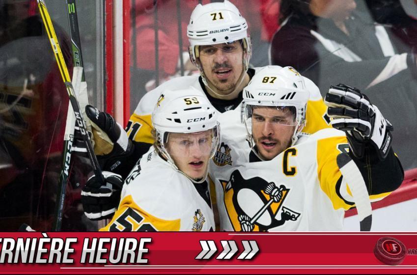 Dernière heure: Les Penguins accèdent à la finale de la Coupe Stanley!