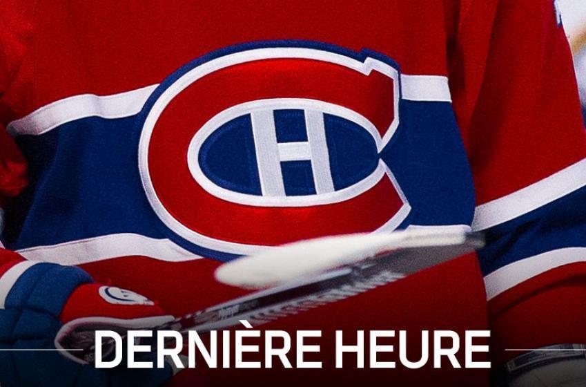 DERNIÈRE HEURE: Les Canadiens font un rappel surprise!