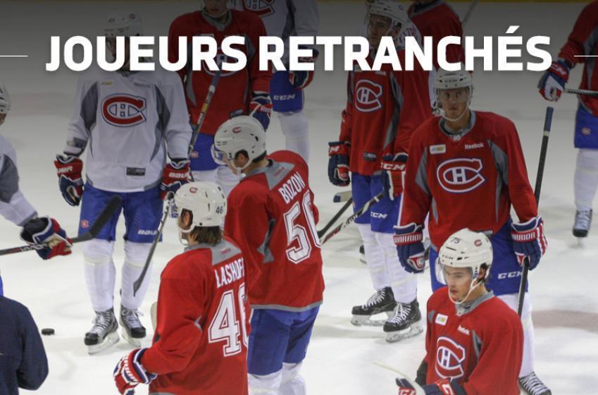 Le Canadien retranche 8 joueurs!