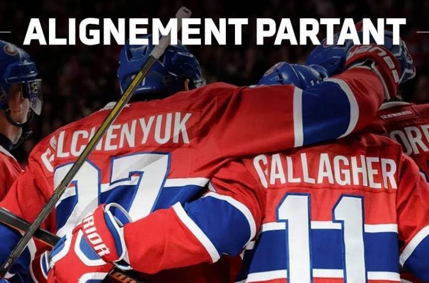 CANADIENS VS BOSTON: Les alignements pour le match de ce soir!
