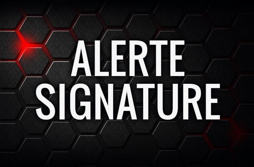 Importante signature dans la LNH!