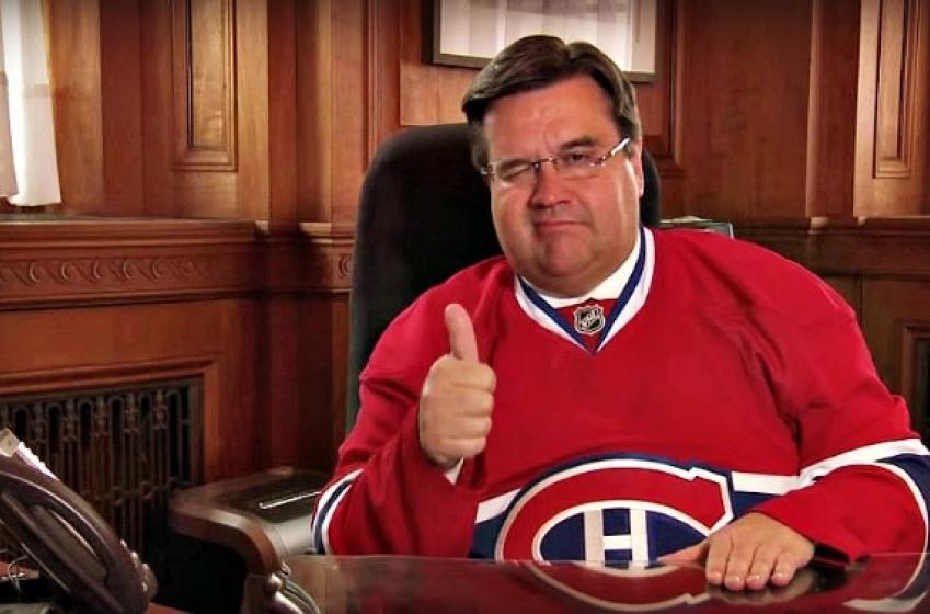Denis Coderre voit grand pour le Canadien!